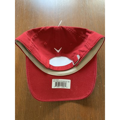 Callaway Golf Pro Stitch cap - red