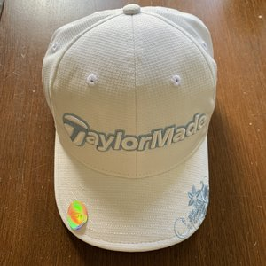 TaylorMade Dames Chelsea pet - wit/lichtblauw