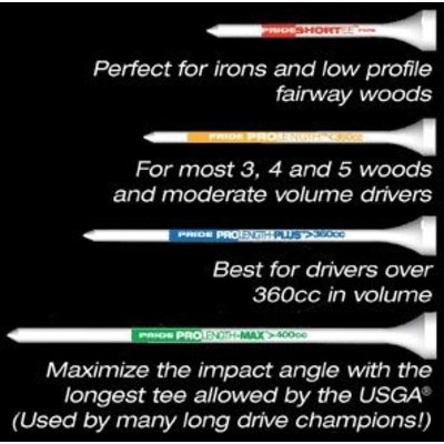 "Professional Tee System ProLength MAX Tee 4"" - 101 mm - 12 tees"