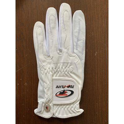 Top Flite Ladies Feel glove, standard Left, for RIGHT HANDED player - size L