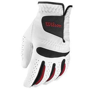 Wilson Staff Golf Heren Feel Plus Handschoen Standaard Links, voor RECHTSHANDIGE golfer