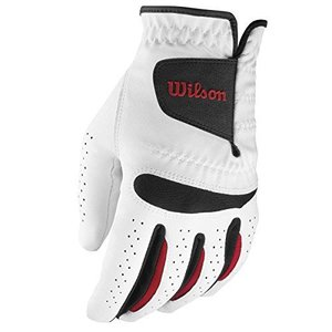 Wilson Staff Golf Men's Feel Plus Glove Standard Left, for RIGHT HANDED golfer