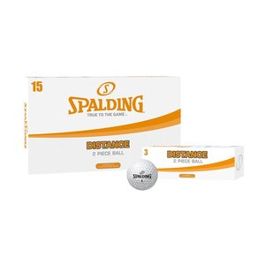 Spalding Golf Distance 2-piece, 15 pieces