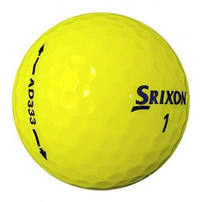 Srixon AD 333 golf balls 12 pcs - yellow