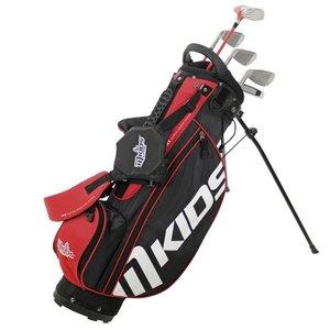 Masters Golf M-Kids Halve set Rood (5 stokken) met tas - 135cm
