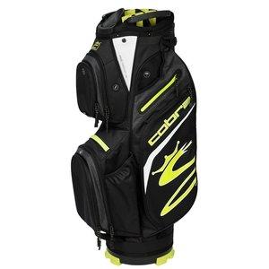 Cobra Cobra UltraLight Cart Bag Black Turbo Yellow