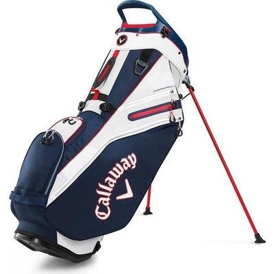 Callaway Callaway Fairway 14 Stand Bag Navy Red