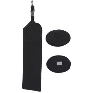 Legend Golf Towel Black