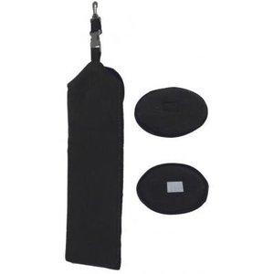 Legend Golfhanddoek extra - zwart