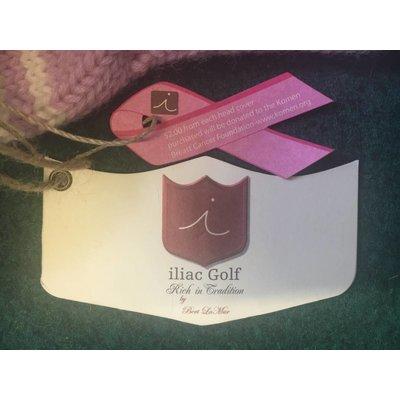 Iliac Golf Hybrid Head Cover of Wood