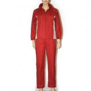 Precise Ladies Rain suit - Scarlet / White