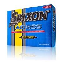 Srixon AD 333 golf balls 12 pcs - yellow