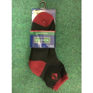 Glenmuir Dames korte sokjes (2 paar)