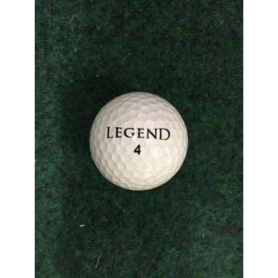 Legend Net met 36 golfballen - wit
