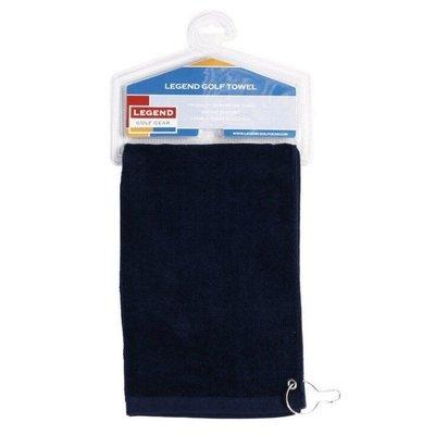 Legend Golf Hand Towel - Navy
