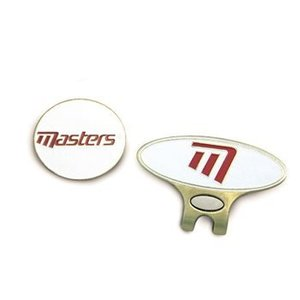 Masters Golf Cap Clip & Ball Marker
