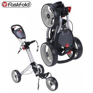 Fast Fold Trike 3 wheel trolley - silver