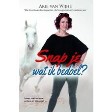 Arie van Wijhe Snap je wat ik bedoel?