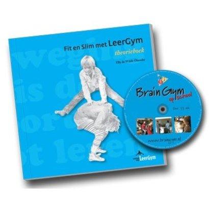 Elly de Wildt-Dienske Fit en Slim met LeerGym  - theorieboek + dvd