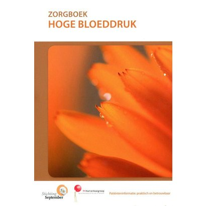 Stichting September Zorgboek - Hoge bloeddruk (hypertensie)