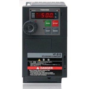 Toshiba VFS15-4004PL-W1 3 phase frequency inverter 380 VAC, 0.4 kW