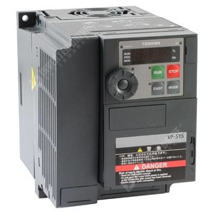 Toshiba VFS15S-2022PL-W1, 1 phase frequency inverter 230 VAC 2.2 kW