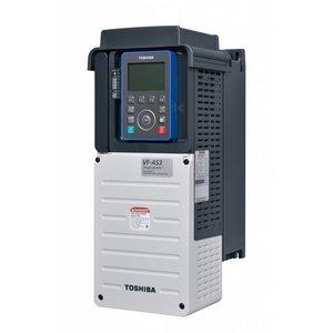 Toshiba VFAS3-4150PC 3 fase frequentieregelaar 380 VAC, 15kW(HD) 18,5kW(ND)