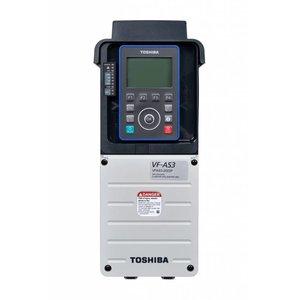 Toshiba VFAS3-4450PC 3 fase frequentieregelaar 380 VAC, 45kW(HD) 55kW(ND)