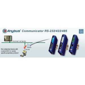 Anybus Communicator RS - Ethernet / IP - Modbus-TCP, AB7007 gatewa