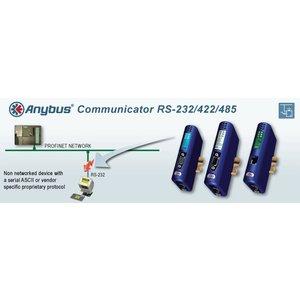 Anybus Communicator RS - Ethernet / IP - Modbus-TCP, AB7072 gateway, 2 port