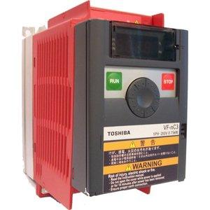 Toshiba VFnC3S-2022PL 1 fase frequentieregelaar 230 VAC, 2,2 kW
