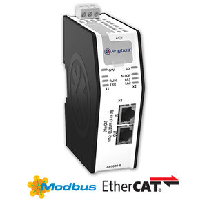 Anybus X-Gateway Modbus-TCP EtherCAT AB9000