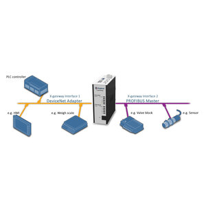 Anybus X-Gateway Profibus Master DP-VO - Devicenet slave AB7802