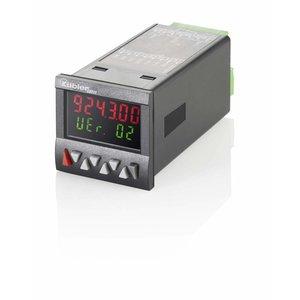 Kübler Codix 6.924.0100.300, multifunctionele preset (2) teller, LCD zonder backlight, voor frequentie, snelheid, tijd en hoeveelheid