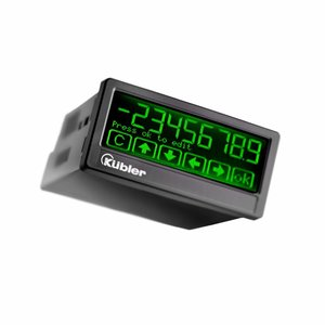 Kübler Codix 6.571T.012.302 Touch multifunctional preset counter, 18-30 VDC, Analog out