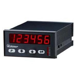 Kübler Codix 6.574.0116.D95 LED Dual Frequentie display, 24VAC/17-30VDC-in