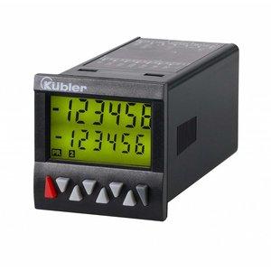 Kübler Codix 6.924.0111.3A0 LCD preset teller, 10-30 VDC-in