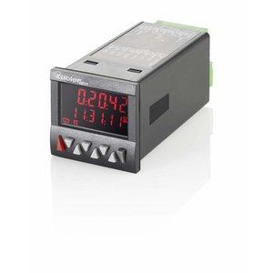 Kübler Codix 6.923.0102.000 LCD teller met 1 voorinstelling, 100-240 V AC-in, negatief rood