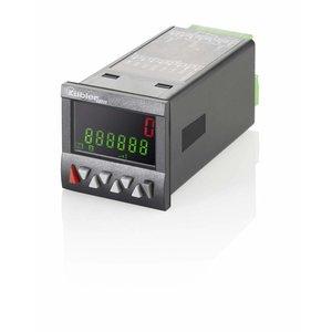 Kübler Codix 6.923.0103.200 LCD teller met 1 voorinstelling, 24 V AC-in, multicolor