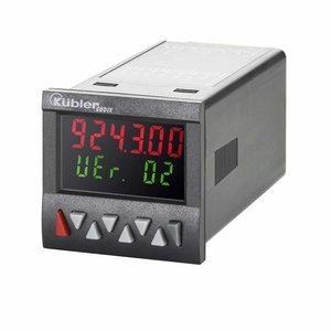 Kübler Codix 6.923.0103.300 LCD teller met 1 voorinstelling, 10-30 VDC-in,  multicolor