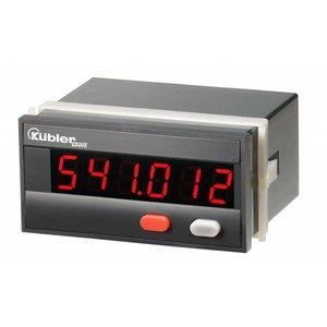 Kübler Codix 6.541.012.3A0 LED Totaalteller en positie indicator, 10-30V Dc-in