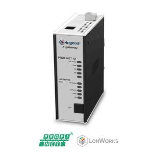 Anybus X-Gateway LonWorks slave - Profibus DP-V0, AB7853