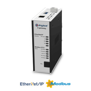 Anybus X-Gateway Ethernet/IP Master - Modbus-RTU slave, AB7678