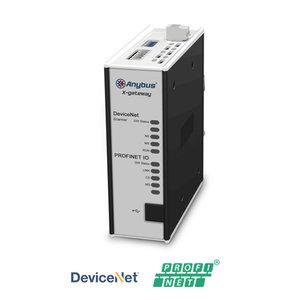 Anybus X-Gateway Devicenet master/scanner - Profinet IO slave, AB7647