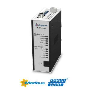Anybus X-Gateway Profibus slave - Modbus-RTU slave, AB7850