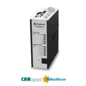 Anybus X-Gateway CANopen slave - Modbus-RTU slave, AB7895