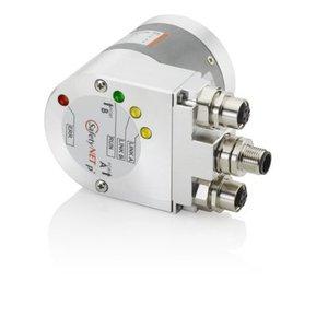 Kübler Sendix 8.5868.2132.3112 encoder absoluut Multiturn, Ø58mm synchro flens IP65, Ø6x10mm as,  Profibus DP V0/profile V1.1 10-30VDC, max. 16 bit ST/ 12bit MT,  3xM12-4pin connector, zonder setknop