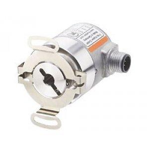 Kübler Sendix 8.3671.5232.1311 encoder absoluut Singleturn analoog, Ø46mm flens met stator koppeling IP67, Ø6mm holle as, 4-20mA analoog 10-30VDC, 1x360° clockwise