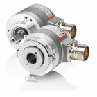 Kübler Sendix 8.5000.8152.0050 incremental encoder, Ø6x10mm shaft, IP65, Push-Pull 10-30VDC, 50 pulses