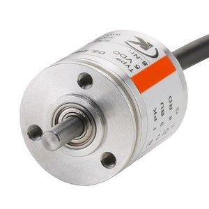 Kübler Sendix 5.2400.2212.0100 incremental encoder, Ø30mm flange, output shaft Ø6x10mm, 100 pulses, 2m PVC cable